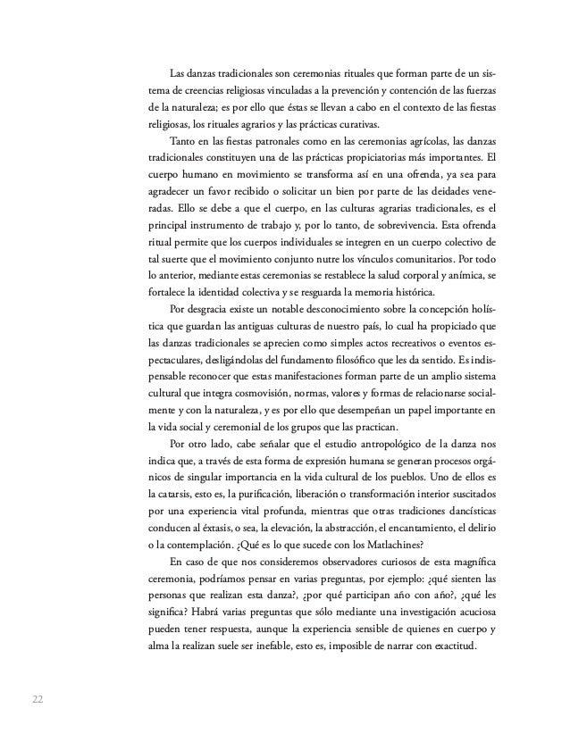 33 La Danza de los Matlachines es un patrimonio cultural de gran valor para los estados de la República donde se conserva,...