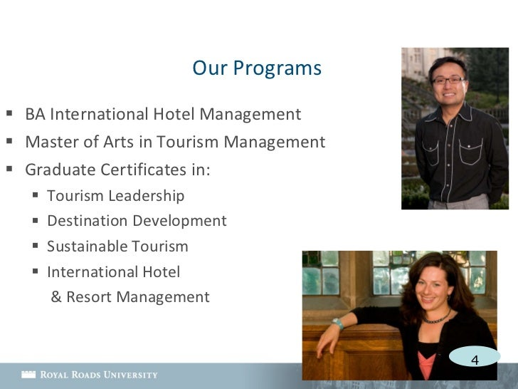 master of tourism management The master of science in travel and tourism at temple university's school of sport, tourism and hospitality management is designed to provide an unparalleled opportunity for individuals to meet the needs of the fast-paced travel and tourism in.