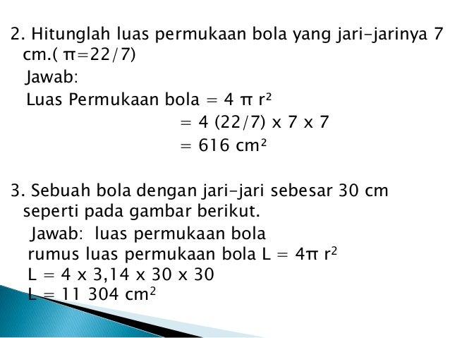 matematika BOLA kelas IX