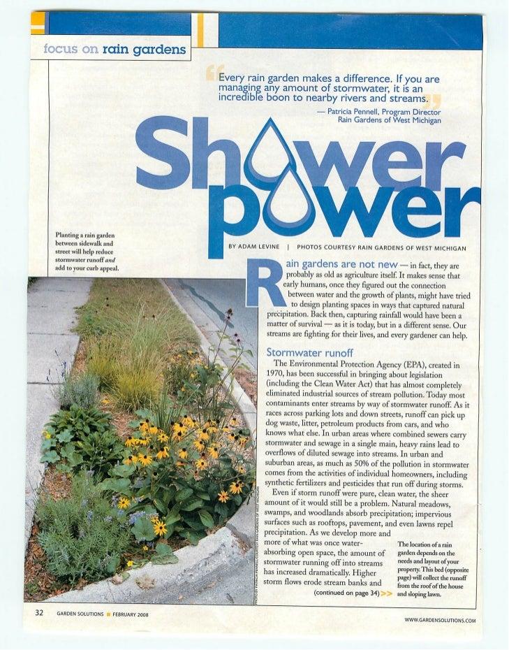 MA: Town of Dennis: Shower Power - Rain Gardens