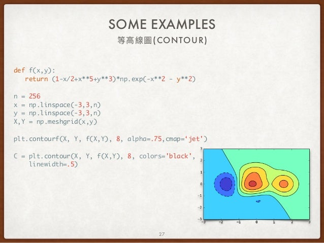 Matplotlib 簡介與使用