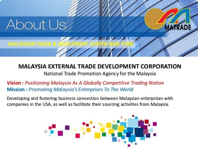 matrade and poic launch malaysia exporters 10th malaysia planiii malaysia tenth delivery system since the launch of exporters registered with matrade are able to access a variety.