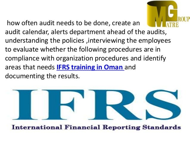 Internal Audit Services in Oman | Accounting Companies in Oman | IFR…