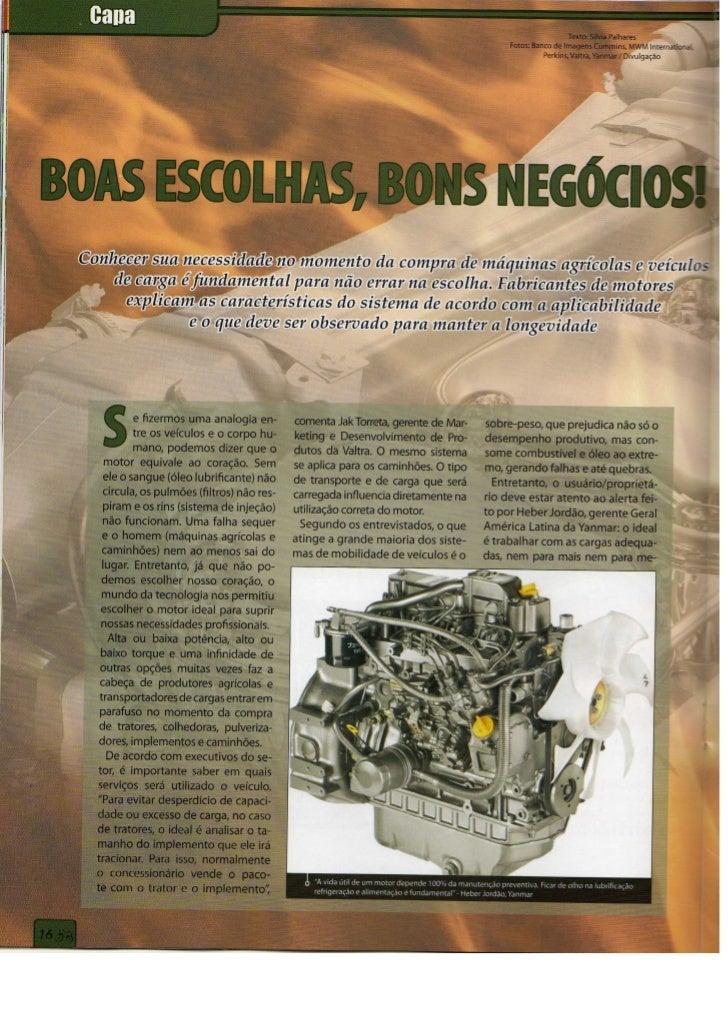 Matéria de Capa_AgriMotor 29_Fevereiro 2008