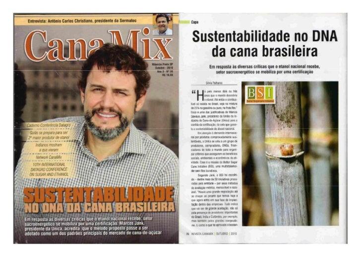 Matéria de Capa_Revista Canamix_Outubro 2010