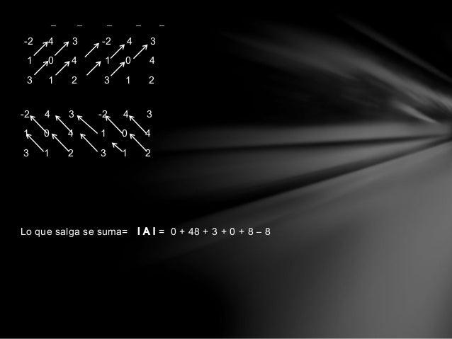 Desarrollo de Laplace (Mat. n*n)  Para utilizar el método de Laplace se debe identificar la fila o la  columna que más cer...