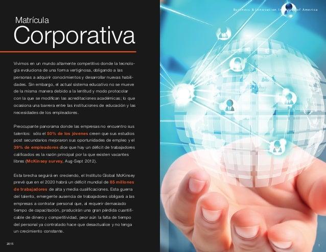 Matrícula Corporativa. Slide 2
