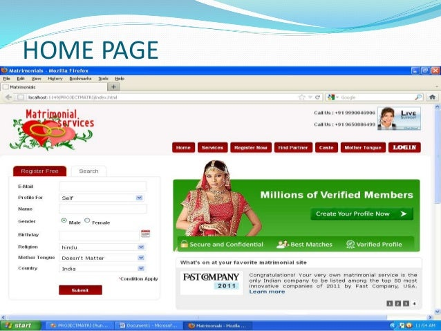 CANDIDATES REPORT PAGE:-