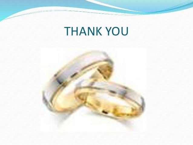 Matrimonial presentation