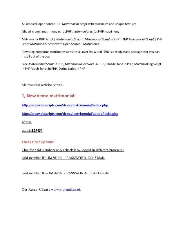 open source matchmaking php udendørs belysning krog op