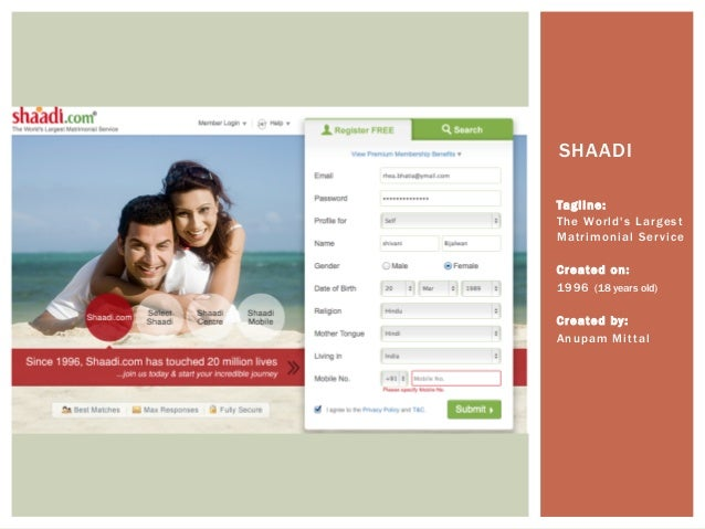 matrimonial website Matrimonial websites, or marriage websites, are a variation of the standard dating websites matrimonial sites are popular in india and among indians settled overseas, as an alternative to the traditional marriage broker.