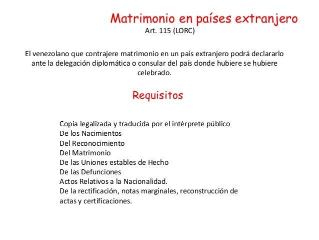 Matrimonio - Requisitos para casarse ...