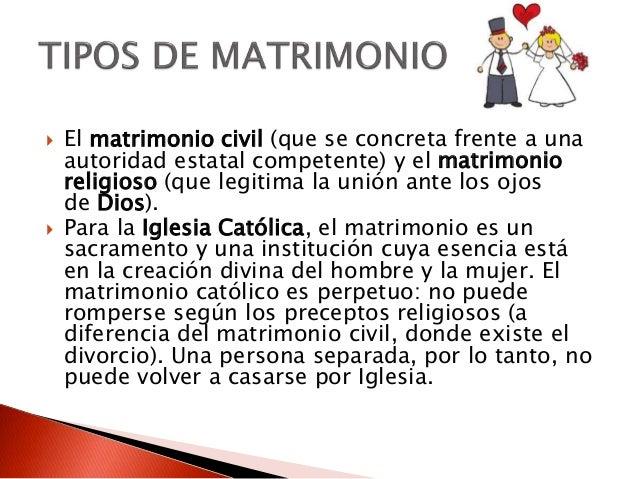 Matrimonio Catolico Divorcio : Matrimonio