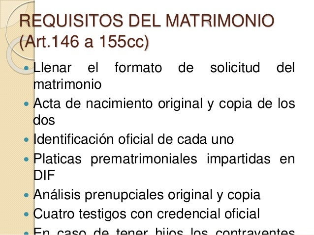 Matrimonio Romano Requisitos : Matrimonio