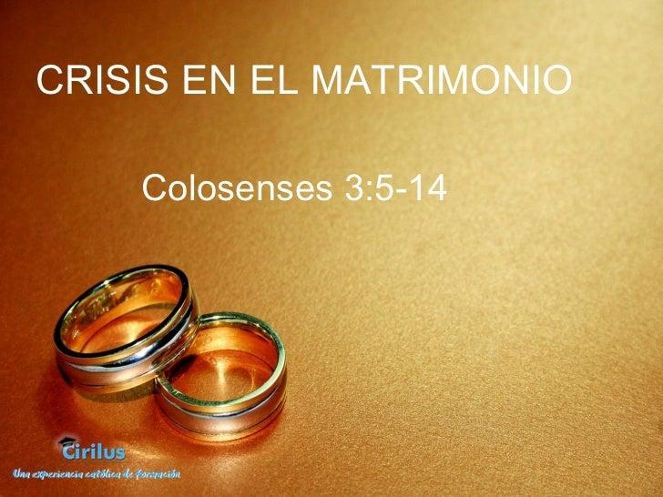 Matrimonio En Problemas Biblia : Matrimonios en crisis