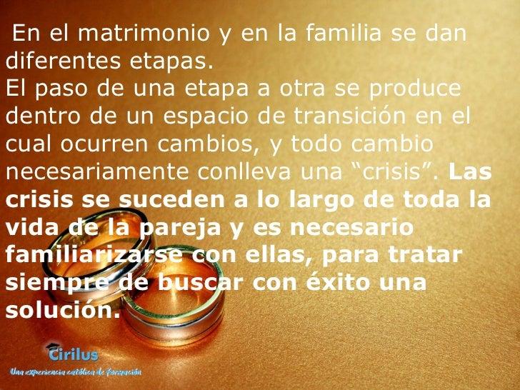 Matrimonio Catolico Hijos : Matrimonios en crisis