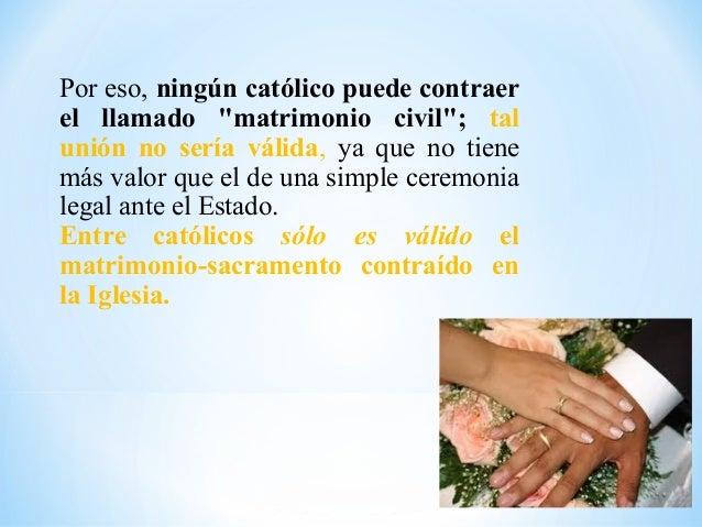 Union Matrimonio Catolico : Matrimonio