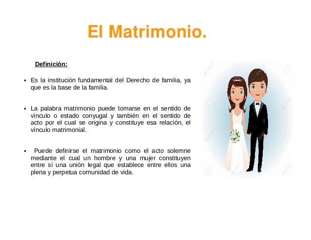 Matrimonio Definicion : Matrimonio copia