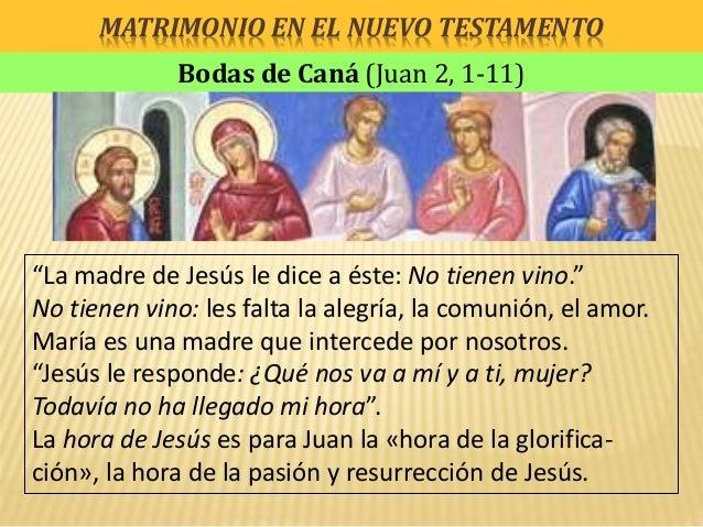 Jesus Matrimonio Biblia : Matrimonio en la biblia