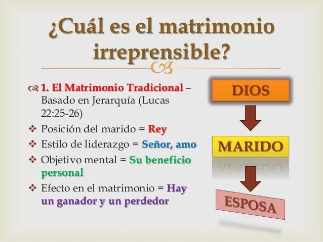Restaurar Matrimonio Segun Biblia : Matrimonios irreprensibles para dios