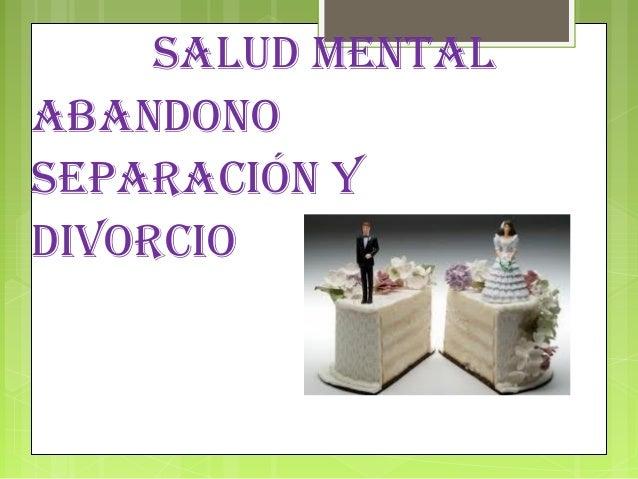 Matrimonio Y Divorcio : Matrimonio y divorcio su influencia en la salud mental