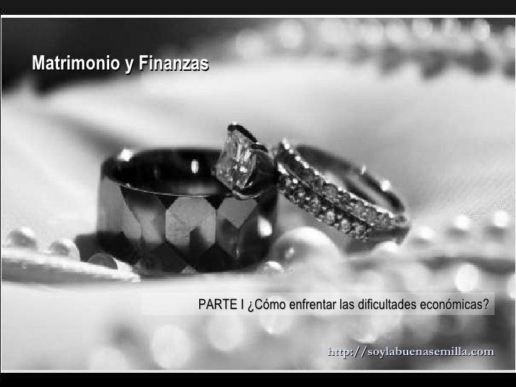 Finanzas Matrimonio Biblia : Matrimonio y finanzas i cómo enfrentar las dificultades