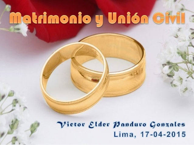 Matrimonio Catolico Y Civil : Matrimonio y union civil