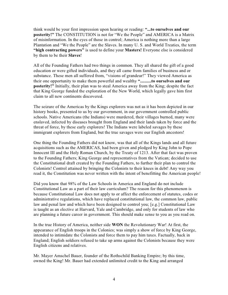 the matrix and the us constitution Following excerpt from article vi of the united states constitution, is very clear in stating: this constitution, and the constitution, our laws and treaties are acceptable only if they conform to the intent and purpose of what has cause the united nations charter, the matrix of the problem, to be made void and united states.