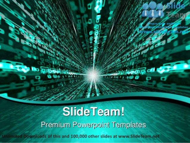 Matrix binary background power point templates themes and backgrounds ppt layouts Slide 2