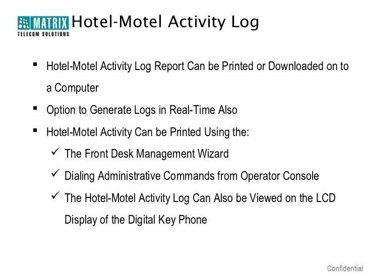 Matrix eternity hospitality pbx_presentation