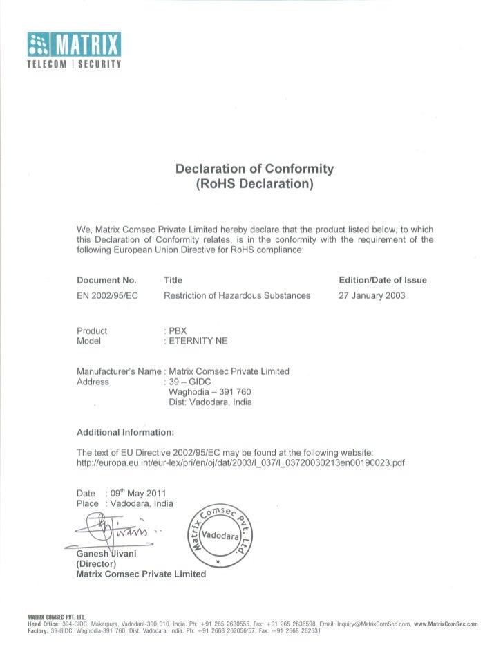 Matrix eternity ne ro_hs_certificate