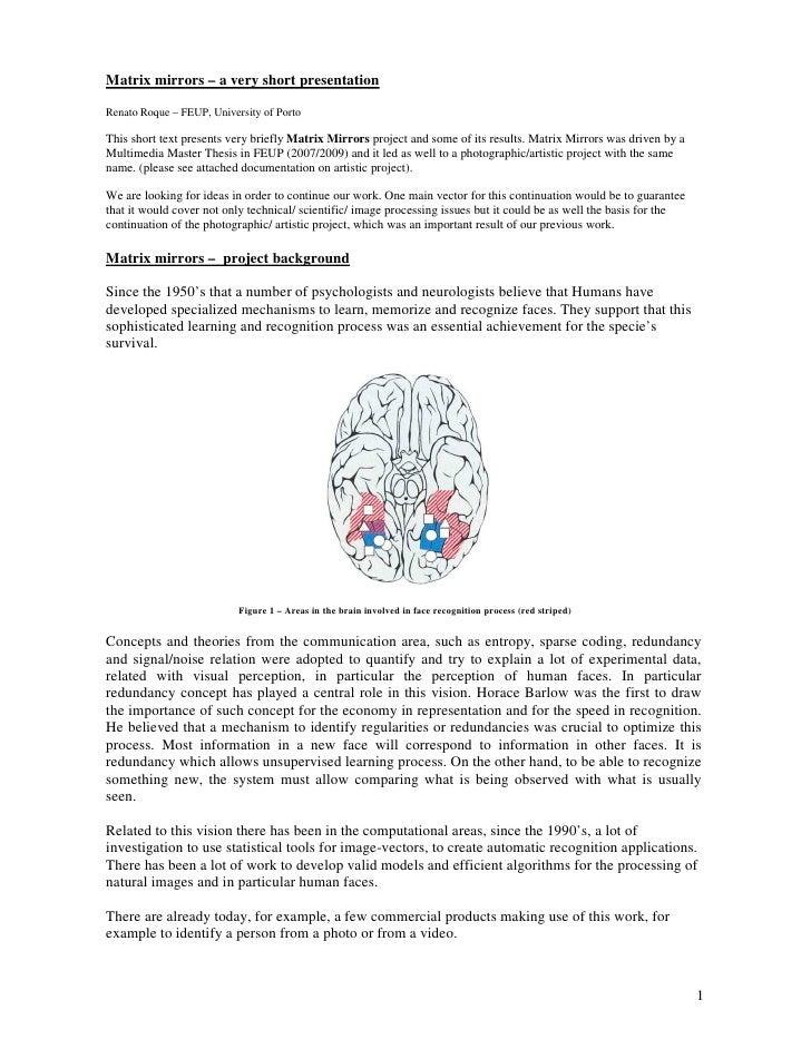 Matrix mirrors – a very short presentationRenato Roque – FEUP, University of PortoThis short text presents very briefly Ma...