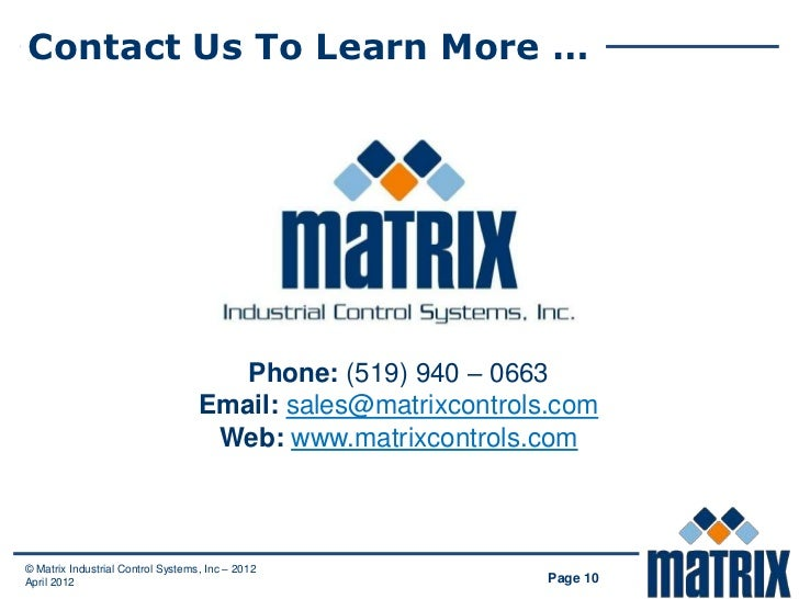 Contact Us To Learn More …                                      Phone: (519) 940 – 0663                                   ...