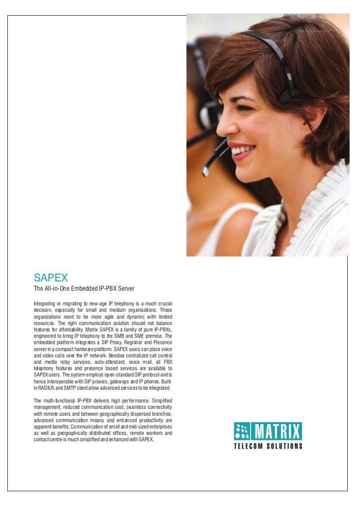 Matrix sapex ip pbx_brochure