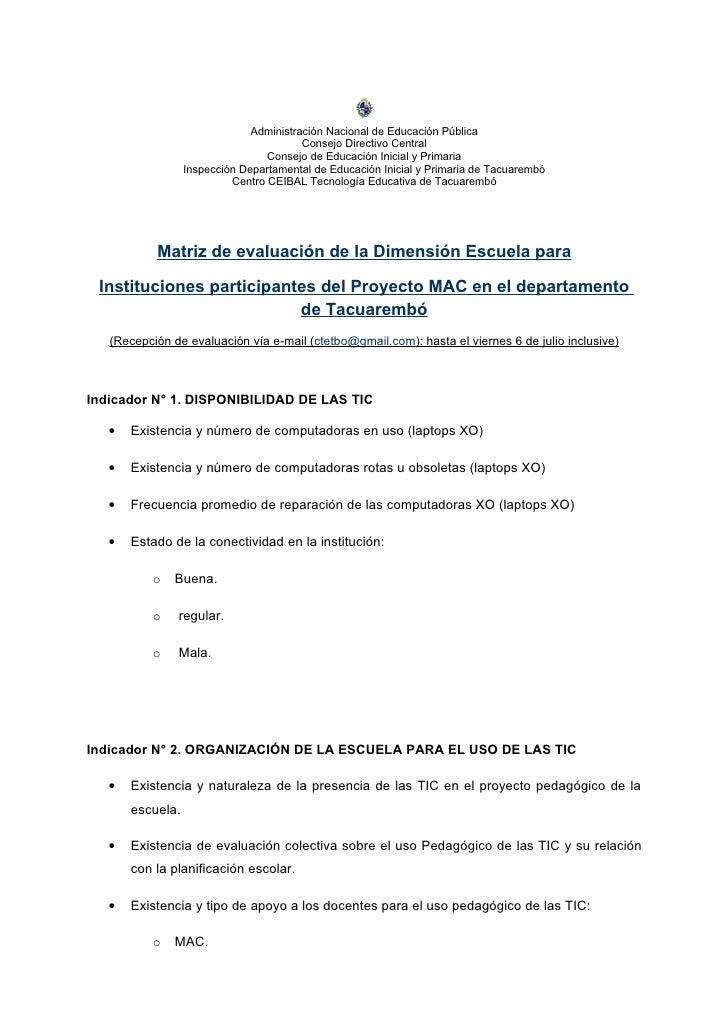 Administración Nacional de Educación Pública                                         Consejo Directivo Central            ...