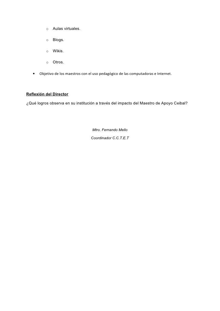 Matriz de Evaluación de la dimensión Escuela participantes proyecto MAC Tacuarembó Slide 3