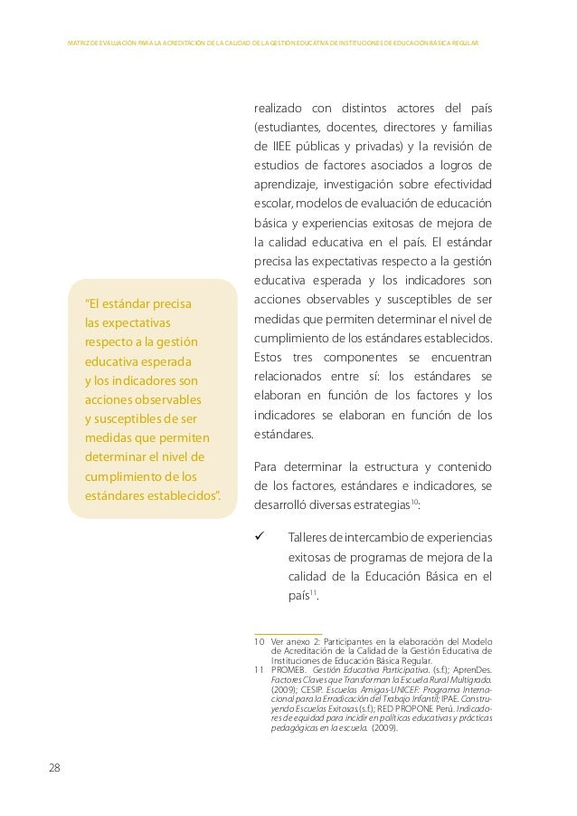 Parte 3: Metodología de elaboración de la matriz de evaluación Revisión bibliográfica a nivel nacional: Estudios sobre e...
