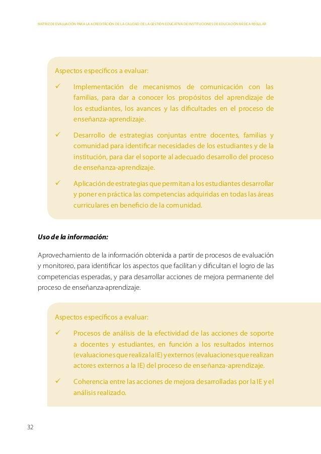Parte 3: Metodología de elaboración de la matriz de evaluación    Participación de los diversos actores de la comunidad ...