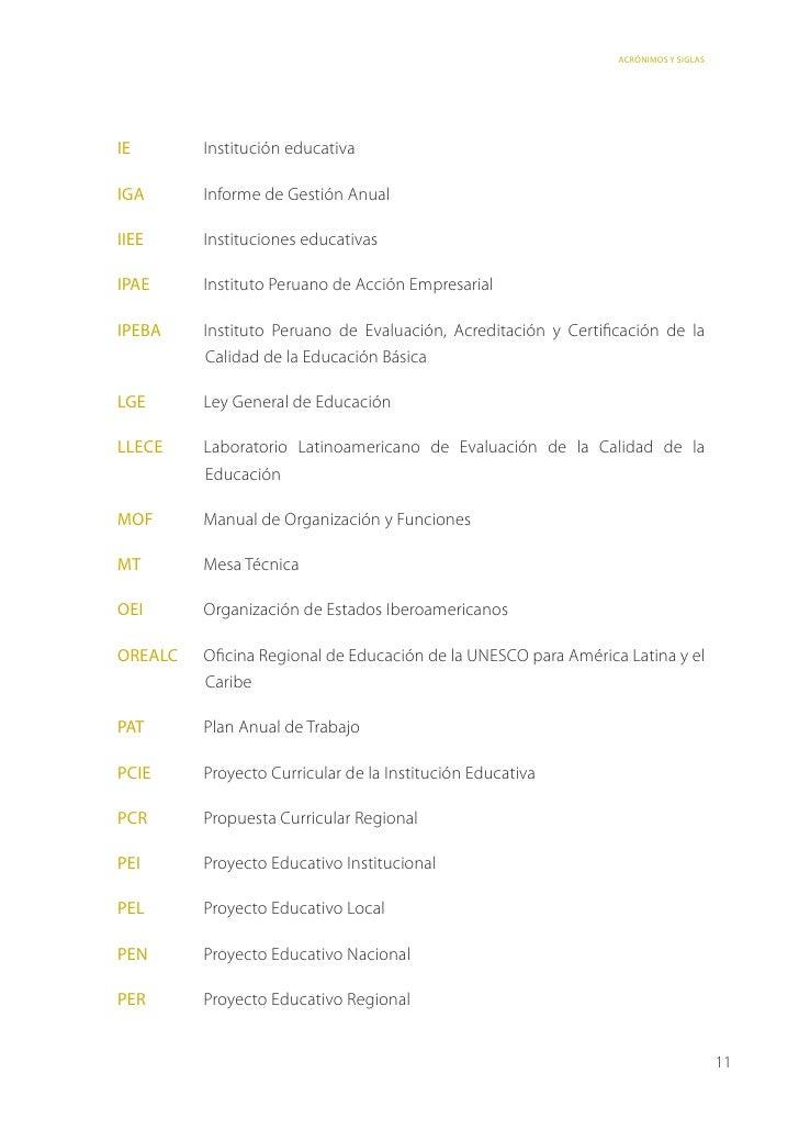 Matriz de evaluación para acreditacion ebr