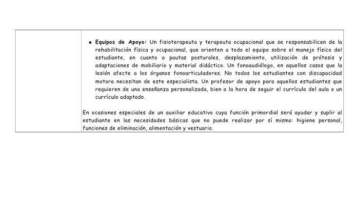 Tipos de Adecuaciones de Paralisis Cerebral y Discapacidad Motora Slide 3