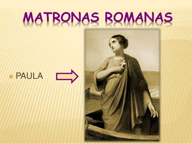 matronas romanas