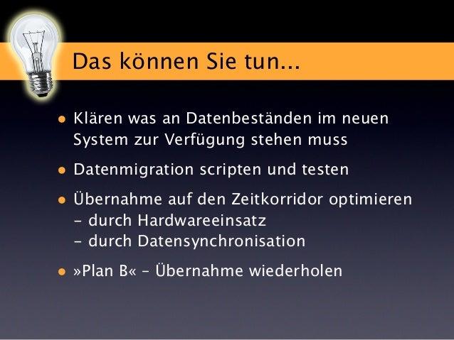 Projekt im Landeanflug Die Rollout-Phase  Holger Darjus · Marcel Moré Das Matroschka Prinzip  FileMaker Konferenz 2013 Sal...