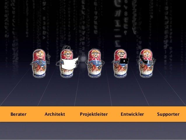 Das können Sie tun... •  Finger weg von der Tastatur  •  Fundierte Architektur-Entscheidungen: z.B. Aufteilung für mehrere...