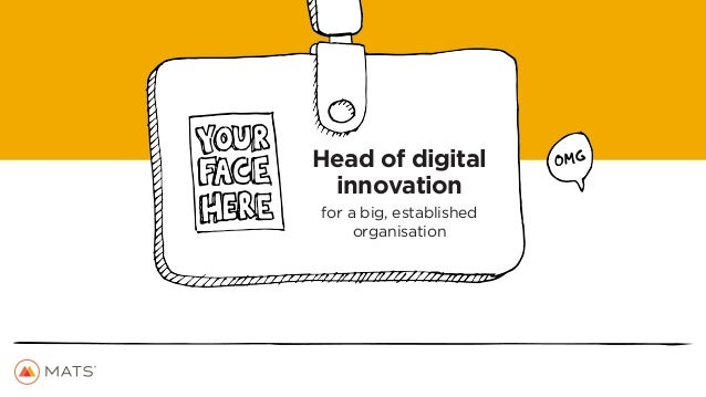 How to beat digital disrupters at their own game. Slide 3