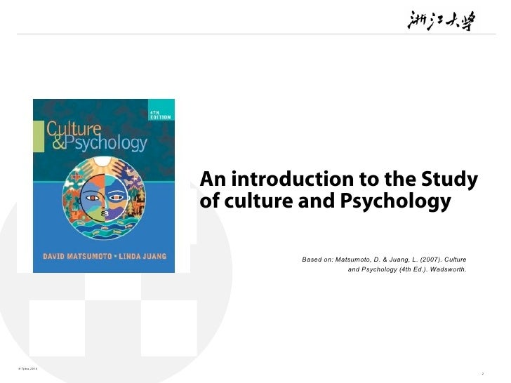 culture and psychology matsumoto pdf