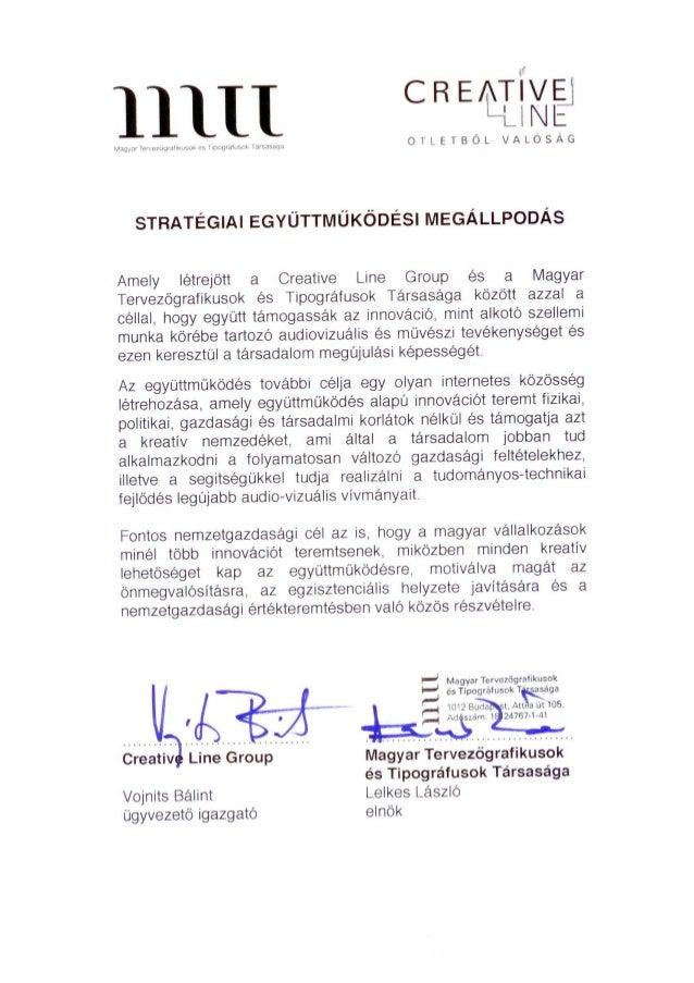 Strategic Partnership Agreement Between Hungarian Designers And Typog