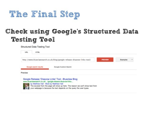 How to implement Google Authorship - Blueclaw slideshare - 웹