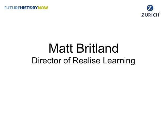 Matt Britland Director of Realise Learning