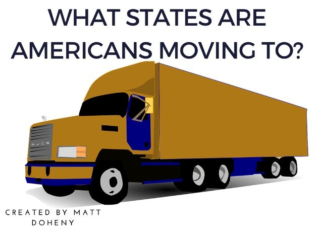 Matt Doheny: What States are Americans Moving to?