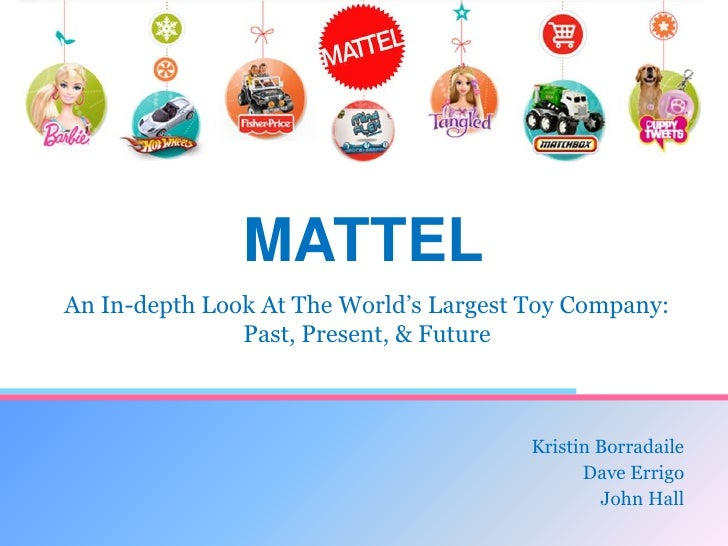 the case of the mattel toy company essay